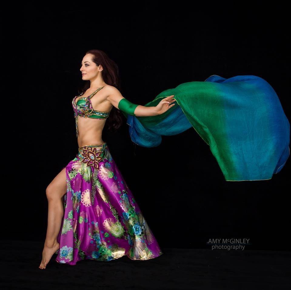 Belly Dancer Tina