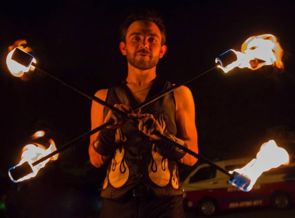 Fire Dancer – Double Staff (1)