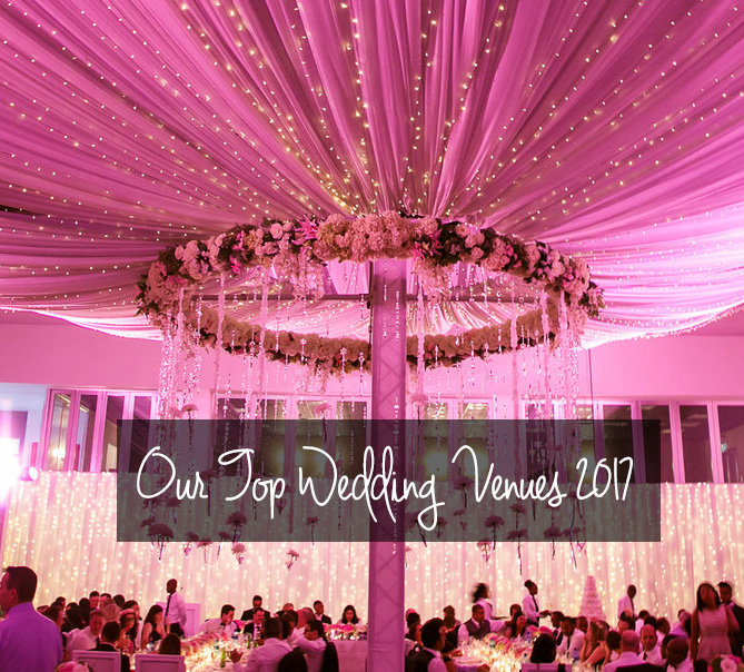 Our Top 8 Wedding Venues for 2017