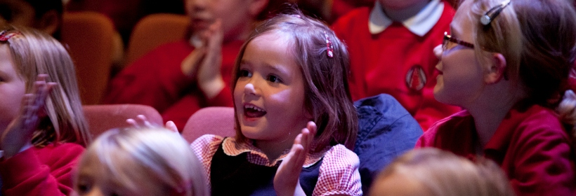 Love for Theatre starts young!