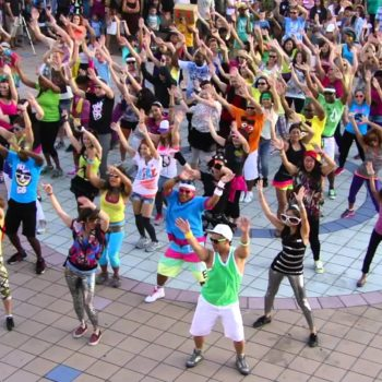 No flash in the pan… 14 years after the 1st Flash Mob